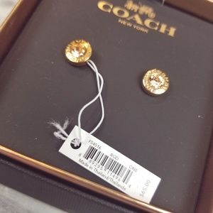 Coach Stud Earrings